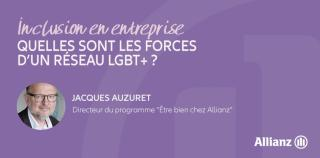 1er anniversaire du réseau inter-filiales Allianz Pride France