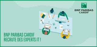 BNP Paribas Cardif recrute des Experts IT !