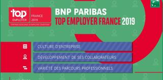 BNP Paribas Top Employeur France 2019