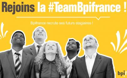 Bpifrance lance sa campagne de recrutement stagiaires !