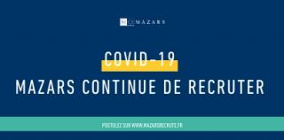COVID-19 : Mazars adapte son processus de recrutement