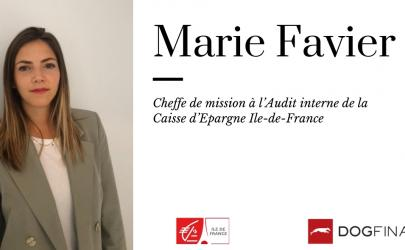 Découvrez l'interview exclusive de Marie Favier, Cheffe de mission à l'Audit interne de la Caisse d'Epargne Ile-de-France