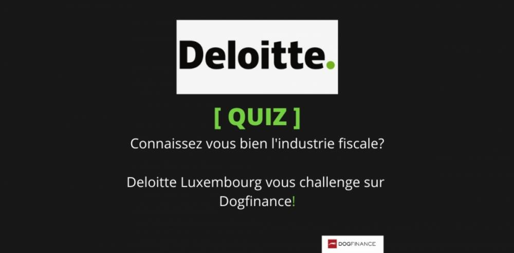 Deloitte Luxembourg vous challenge !