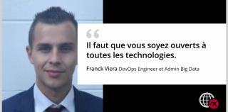 Franck VIERA, DevOps Engineer et Admin Big Data