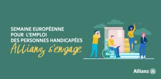[Handicap] Allianz France s'engage à l'occasion de la SEEPH 2020