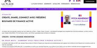 Interview La Place Fintech : Frédéric Bouvard, CTO de Finance Active