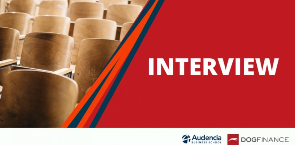 Interview : Do you know Audencia's MS Finance Risk and Control?