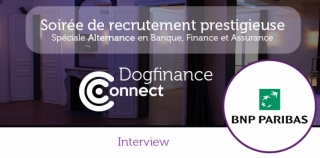 Interview: 'En 2016, BNP Paribas vise en France un recrutement de 2 000 alternants.'