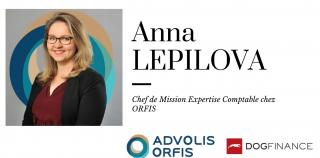 Interview exclusive de Anna LEPILOVA, chef de mission expertise comptable chez ORFIS !