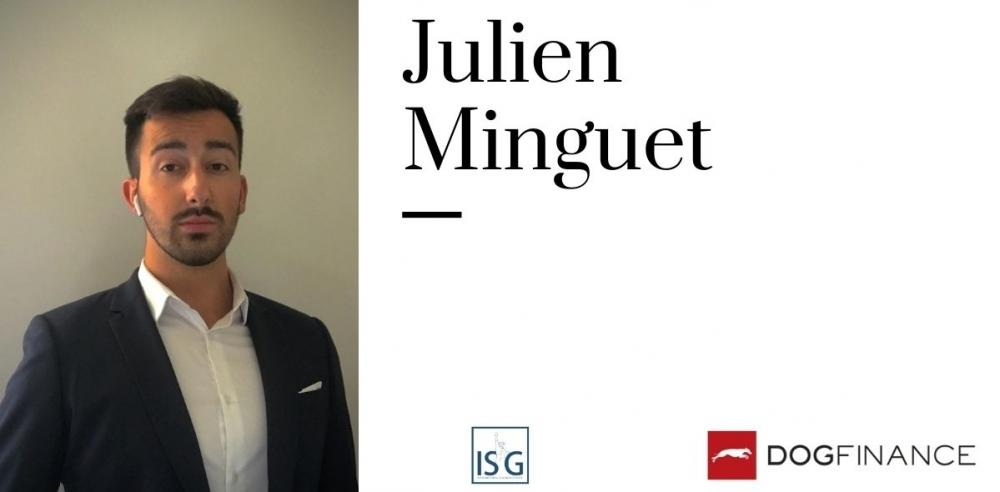 Interview exclusive de Julien Minguet, gagnant du Trophée de l'ISG