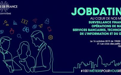 Jobdating Banque de France le 16 octobre 2019