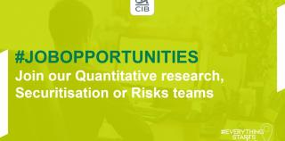 Kick off your career and join our #Quants teams!