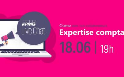 KPMG Live-Chat Expertise comptable