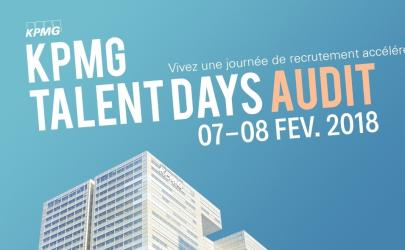 KPMG Talent Days Audit 2018