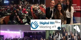 Le DRH EVENT 'DIGITAL RH' MEETING FRANCE, c'est le 26 novembre prochain à Paris !