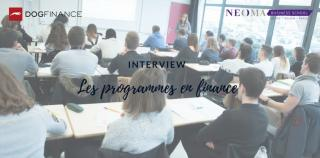 Les programmes en finance chez NEOMA Business School