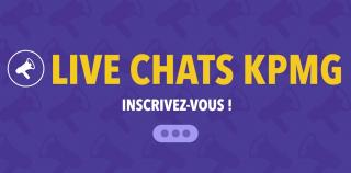 Live Chats KPMG : Save the dates !