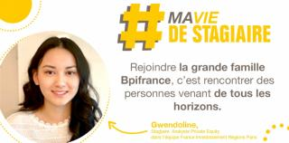#MaVieMonStage : Gwendoline nous raconte son stage chez Bpifrance !