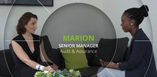 Meet Marion, Senior Manager in the Audit and Assurance Department