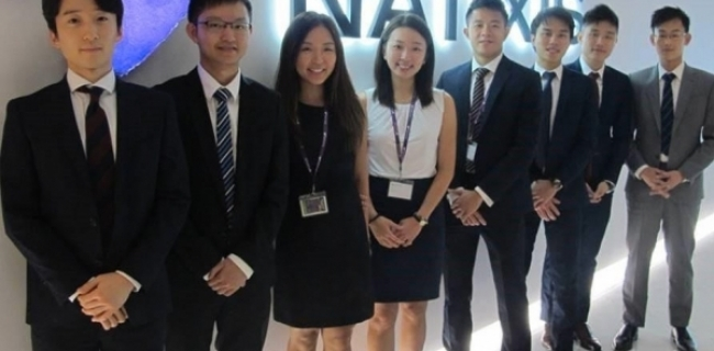 Natixis a lancé son Graduate Program en Asie