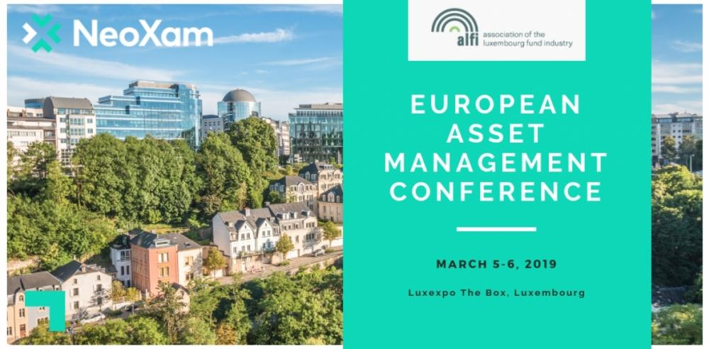 NeoXam @ ALFI European Asset Management Conference, Luxembourg