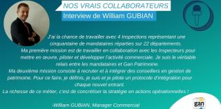 [Nos vrais collaborateurs] Interview de William Gubian, Manager Commercial chez Gan Patrimoine