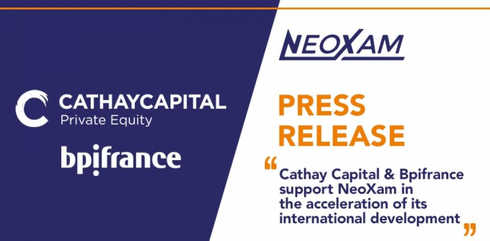 [Press Release] Cathay Capital Private Equity and Bpifrance today announced that they have signed an agreement to acquire a majority stake in global financial software company NeoXam