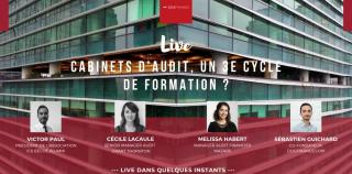 Replay Live : Les Cabinets d'audit, un 3e cycle de formation ?