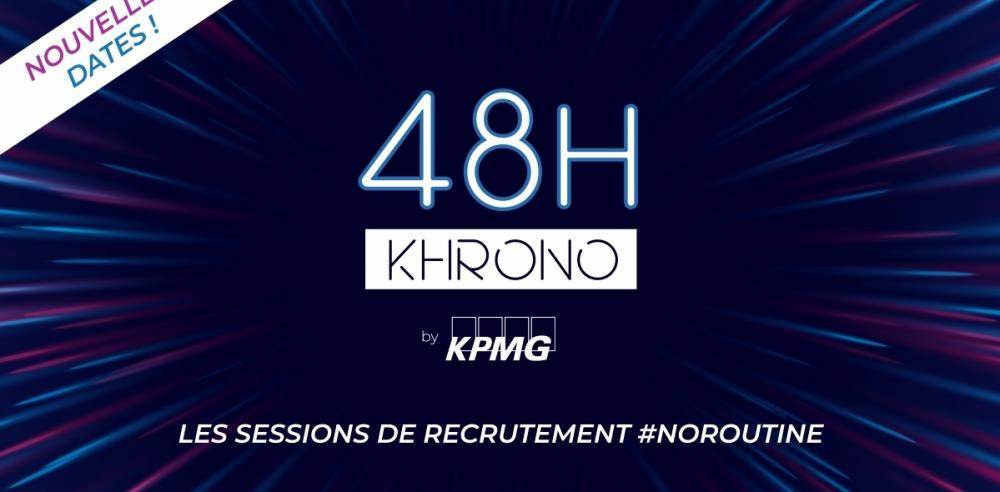 Sessions de Recrutement 48H Khrono en digital
