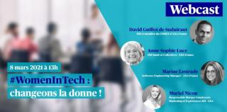 Webcast - #WomenInTech : changeons la donne !