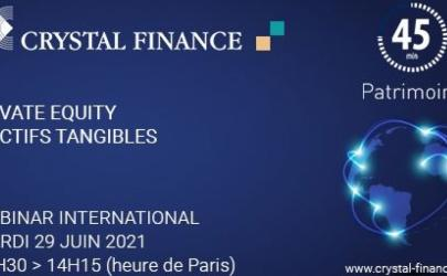 Webinaire Private Equity et actifs tangibles