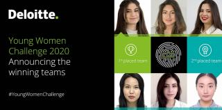 Young Women Challenge 2020—a huge step towards gender balance